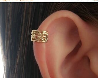 SALE - Gold Ear Cuff-Upper Ear Earring No Piercing-Helix Ear Cuff-Cartilage Ear Cuff-Ear cuff no piercing-Ear Cuff Earring-Ear Cuffs-Earcuff