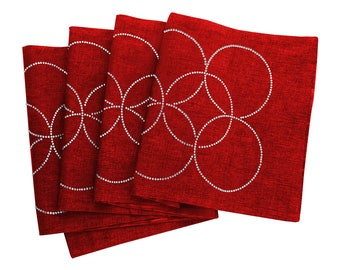 Rhinestone Circles Table Runner