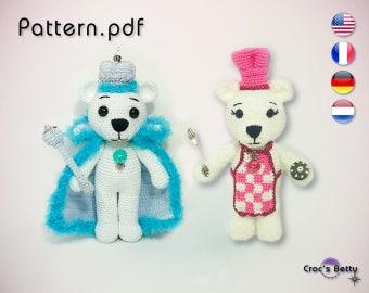 Pattern - Tipecks & Farine the Teddy Bears