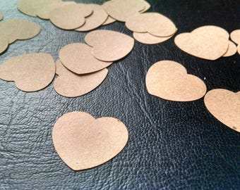 25 hand punched hearts ~ tags ~ heart tags ~ rustic tags ~ wedding tags ~ wedding reception ~ farmhouse wedding tags ~ party decorations