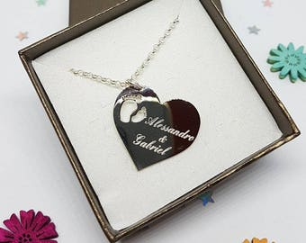 Heart Pendant and Engraving