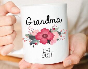Grandma Mug, New Grandma Mug, Grammy Mug, New Grandma Gift, Baby Announcement mug, Pregnancy Reveal to Grammy Mug, Custom Grandma Coffee Mug