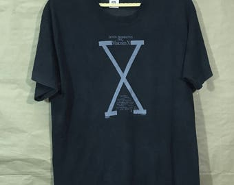 90s Vintage Malcolm X Denzel Washington Spike Lee Movie Film T-shirt Adults Large Size Chest 22.5""