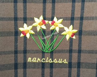 Narcissus towel