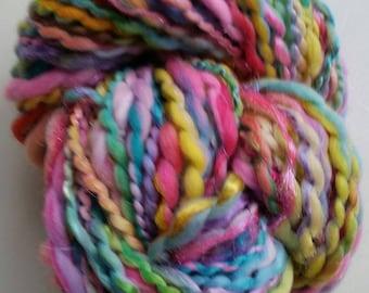 VENUS skein of yarn spun to spinning wheel.