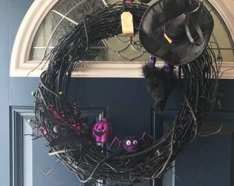 Halloween Wreatb