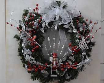 Holiday Soldier Wreath