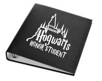 Honor student decal-vinyl decal-school-fandom-free shipping