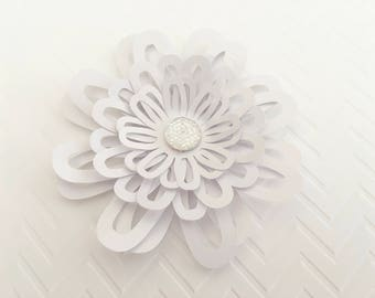 6 Wedding Paper Flower III Cardstock Flower Backdrop Flower Flower Decor Wedding Flowers Paper Decoration Party Decorations Party Supplies
