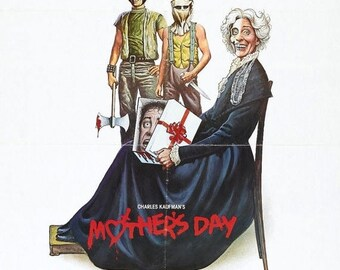Back to School Sale: MOTHERS DAY Movie Poster Horror Gore