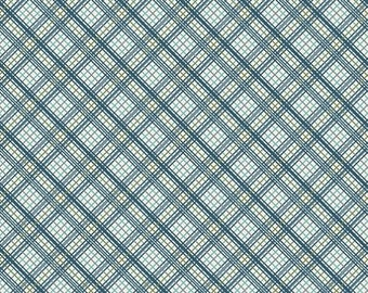 SALE Offshore Plaid in Blue from Offshore by Deena Rutter for Riley Blake Designs