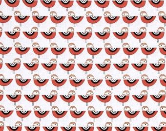 SALE Suzy's Minis Birds in Grey by Suzy Ultman for Robert Kaufman Fabrics