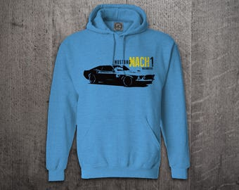 Ford Mustang hoodie, Cars hoodies, Ford hoodies, Mustang sweaters, Men hoodies, funny hoodies, Cars t shirts, Classic Mach1 Mustang hoodies