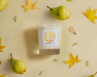 Brandied Pear Soy Candle 8 oz Jar - Fancy Pants