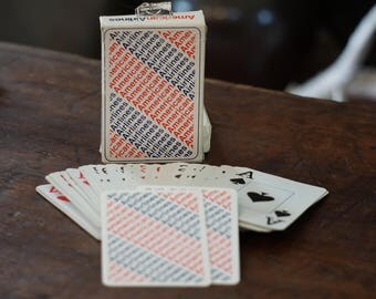 American Airlines Playing Cards