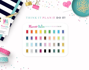 36 Smart Phone / Cell Phone Planner Stickers - Perfect for Erin Condren, Happy Planner, Filofax, Plum Planner, Kikki K and more!