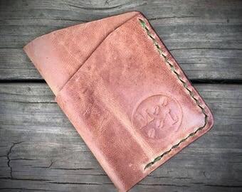 Horween Leather Wallet, Small Wallet, Slim Wallet, Minimalist Credit Card Wallet, Men's Wallet, Front Pocket Wallet