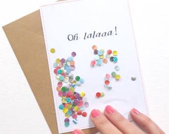 NEW - Ohlalaaa! I Ansichtkaart/Postcard