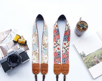 Art Fabric Flower Camerastrap