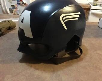 Captain America Helmet Avengers | Marvel | The avengers | Superhero | Avengers birthday | Cosplay Mask | Comic Con | Cosplay Prop | Costume