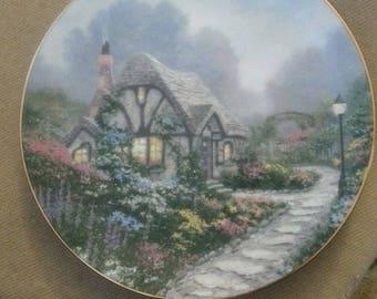 "Thomas Kinkade  Collector Plate ""Chandler's Cottage"""