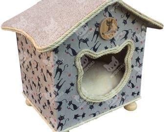 CatCottage Catbed Cathouse Cat Furniture
