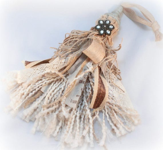Large Tassels Home Decor: Decorative Tassel Farmhouse Decor Ornamental Tassel Rustic