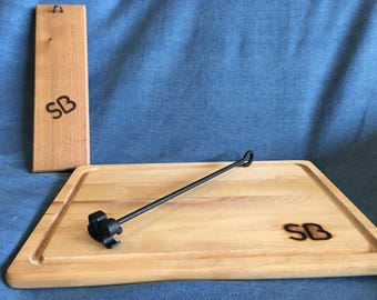 Mini Brand I with Cedar Display Board and Carving Board