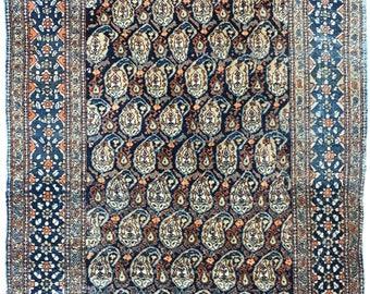 Antique Afshar Rug 1.83m x 1.41m