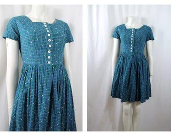 1950s Original Dirndl Dress