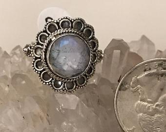 Moonstone Ring, Size 8 1/2