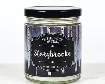 Storybrooke | Once Upon a Time Scented Vegan Soy Candle |