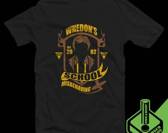 Whedon's School of Misbehaving T-Shirt