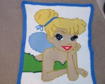 Tinkerbell blanket