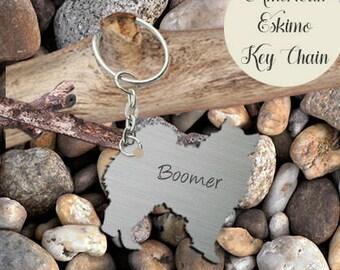 American Eskimo Key-chain