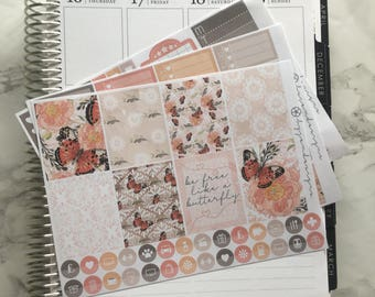 Butterfly Effect - MINI Weekly Sticker Kit, for use with EC LIFEPLANNER™