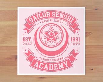 Sailor Senshi Academy Print