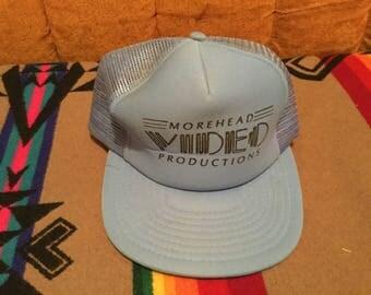 vintage 80's mesh trucker hat