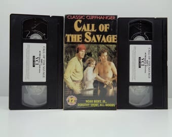 Call of the Savage VHS Noah Beery