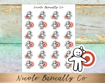 Cutie Pies- Target Planner Stickers