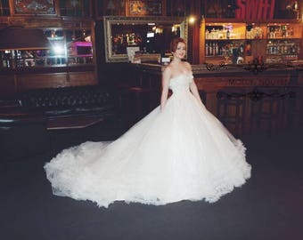 White wedding dress - Bridal wedding - wedding dress