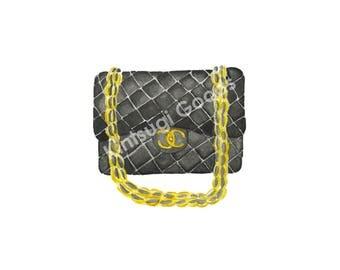 Chanel Bag Digital Print