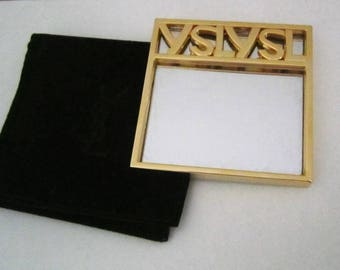 Yves Saint Laurent vintage mirror, 1980