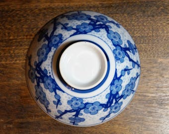 Blue Floral Small Bowl