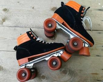 Vintage rollerskates  1980 roller skates size eu women 41