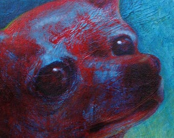 """Your Dog with Color, Texture & Soul - 11""""x 14"""""""
