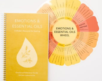 Emotions & Essential Oils 5th Edition + double sided Colorwheel