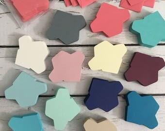 "1x1.5"" DIY itty bitty teeny tiny mini envelopes (set of 50 unfolded)"