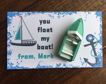 Kids Valentine Card Valentine's Day Card Kid Valentine Kid Kid Valentine Class treat Bug Valentine's Day VALENTINE day kid boat valentine