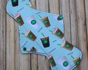 "14"" overnight cloth pad/ postpartum / heavy/ mama cloth/ menstrual cloth pad/ Made by Mother"